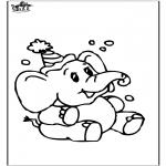 Dyre-malesider - Elephant 8
