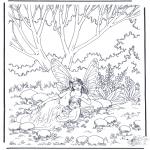 Diverse - Elfjes in het bos