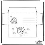 Håndarbejde - Envelop baby