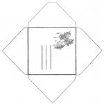 Håndarbejde - Envelop unicorn