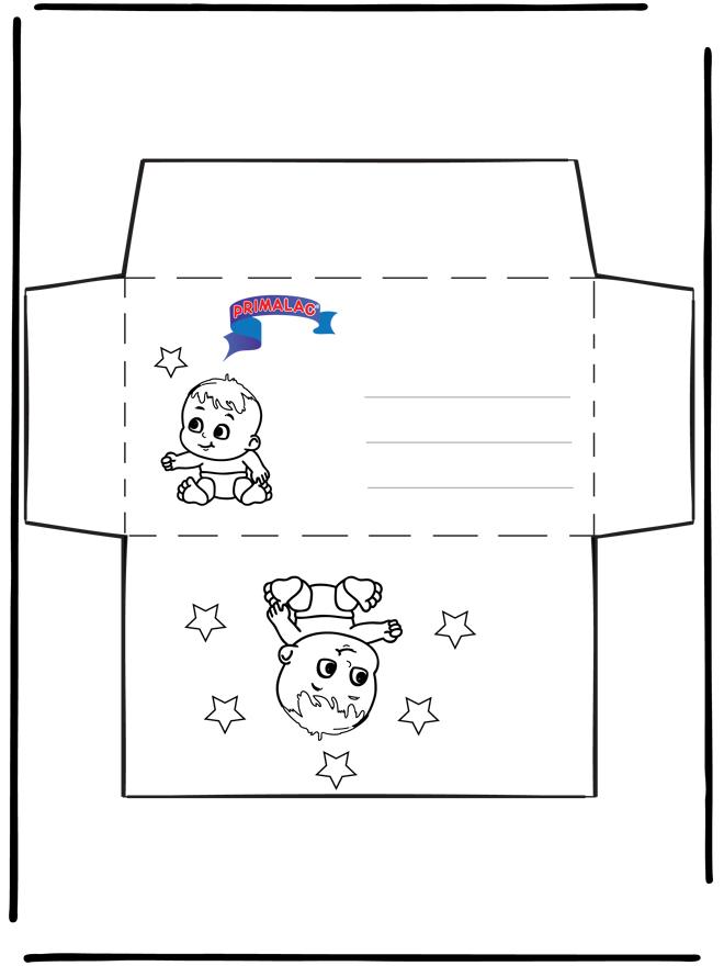 Envelope Primalac - Udklipningsark