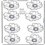 Håndarbejde - Flower mobile