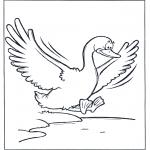 Dyre-malesider - Flying goose