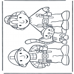Børne-malesider - Free coloring pages Bob the Builder