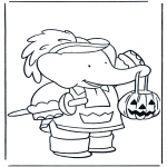 Tema-malesider - Free coloring pages Halloween