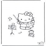 Diverse - Free coloring pages Hello Kitty