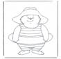 Free coloring pages Paddington bear