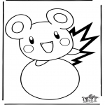 Sjove figurer - Free coloring pages Pokemon