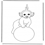 Børne-malesider - Free coloring pages Teletubbies