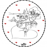 Tema-malesider - Free coloring pages Valentine's