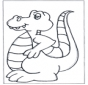 Free coloring sheets dinosauer