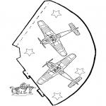 Håndarbejde - Funny hat Airplane