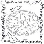 Mandala-malesider - Geomandala 12