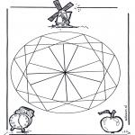 Mandala-malesider - Geomandala 2