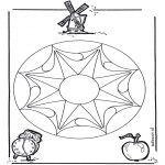 Mandala-malesider - Geomandala 3