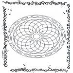 Mandala-malesider - Geomandala 5