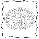 Mandala-malesider - Geomandala 7