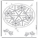 Mandala-malesider - Geomandala 8