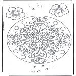 Mandala-malesider - Geomandala flowers