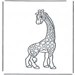 Dyre-malesider - Giraffe 2