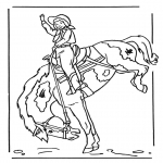 Dyre-malesider - Girl on horse 2