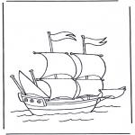 Diverse - Groot zeilschip