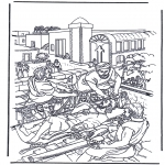 Bibel-malesider - Haealing of the paralysed man 2