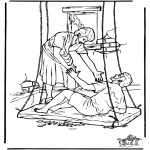 Bibel-malesider - Haealing of the paralysed man 4