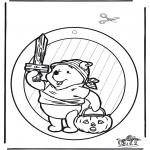 Tema-malesider - Halloween suncatcher 1
