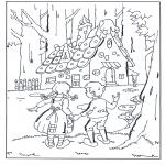 Diverse - Hans en Grietje bij het snoephuisje