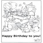 Tema-malesider - Happy Birthday 6
