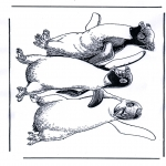 Sjove figurer - Happy Feet 1
