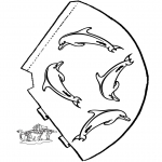 Håndarbejde - Hat Dolphin