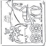 Diverse - Hay wagon