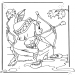 Sjove figurer - Hiawatha