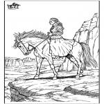 Dyre-malesider - Horse 10