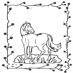 Dyre-malesider - Horse 2