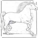 Dyre-malesider - Horse 3