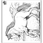 Dyre-malesider - Horse 8