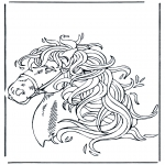Dyre-malesider - Horse head 1