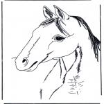Dyre-malesider - Horse head 3