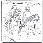Dyre-malesider - Horseriding 1