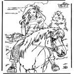 Dyre-malesider - Horseriding 4