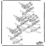 Håndarbejde - How many planes