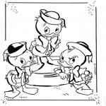 Sjove figurer - Huey, Dewey and Louie 1