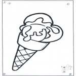 Børne-malesider - Ice cream