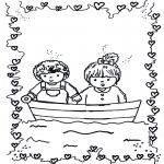 Børne-malesider - In love 1