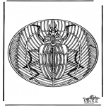 Mandala-malesider - Insect mandala 2