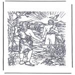 Bibel-malesider - Jesus baptisted