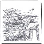 Bibel-malesider - Jesus called Simon and Andrew